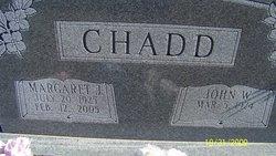 John W Chadd, Sr