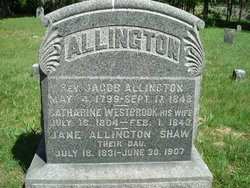 Rev Jacob Allington