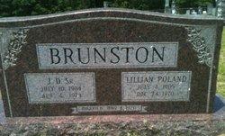 Lillian <i>Poland</i> Brunston