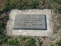 William Roberts Bob Babb