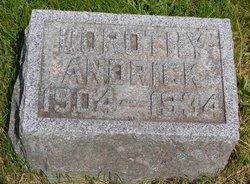 Dorothy M <i>Heckman</i> Andrick