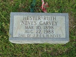 Hester Ruth Zoana <i>Neves</i> Garvey