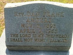 Rev Dan Frank Anders