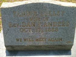 Fannie <i>Lolley</i> Anders