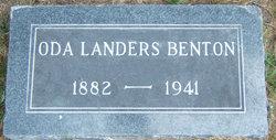 Oda <i>Landers</i> Benton