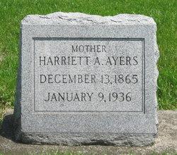 Harriett A. Hattie <i>Hall</i> Ayers