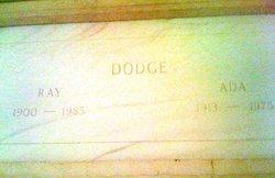 Ray Edgar Dodge