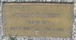 William P Amyett
