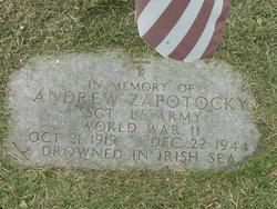 Sgt Andrew Zapotocky