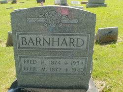 Effie M <i>Robinson</i> Barnhard