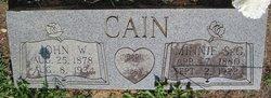 Minnie S. <i>Gardner</i> Cain
