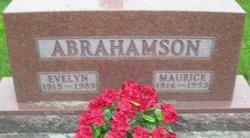 Evelyn L <i>Blackmore</i> Abrahamson