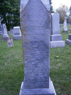 Marcus E Armstrong
