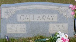 Mary E. Callaway, Mother