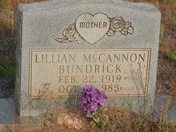 Lillian <i>McCannon</i> Bundrick, Mother
