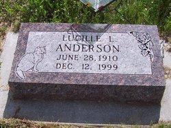 Lucille L <i>Cox</i> Anderson