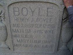 Mary D Mollie Boyle
