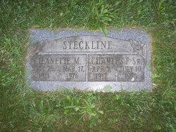 Charles F Steckline, Sr