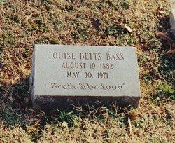 Mary Louise <i>Betts</i> Bass