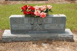 Annie Mae <i>Parish</i> Purser