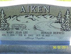Mary Jean <i>Lee</i> Aiken