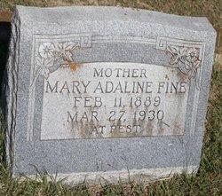 Mary Adaline <i>Webb</i> Fine
