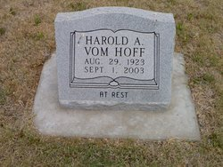 Harold A Vom Hoff
