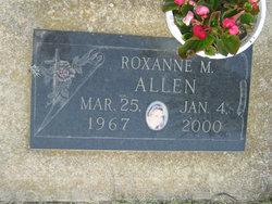 Roxanne M Allen