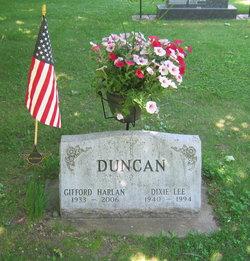 Dixie Lee <i>Tannahill</i> Duncan