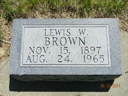 Lewis William Brown