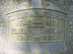 Eliza Hutchison