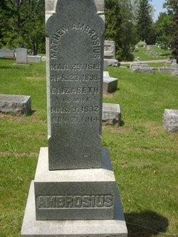 Elizabeth <i>Wendler</i> Ambrosius