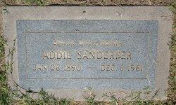 Emma Adeline Addie <i>Sawyers</i> Sanderfer