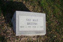 Vay <i>May</i> Britton