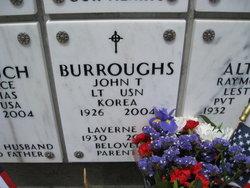 Dr John T Burroughs