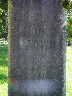 Ethel Livona <i>Thomas</i> Brown