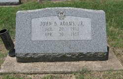 John Bunyan Adams, Jr