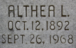 Althea Lee Ammons