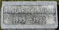 Margaret H Adams