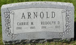 Rudolph D Arnold