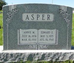 Annie M <i>Weaver</i> Asper