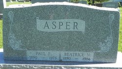 Beatrice N Asper