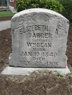 Elizabeth A <i>Barger</i> Bean