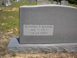 Wynona Blackie <i>Parrish</i> Benson