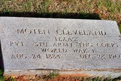Moten Bill Cleveland