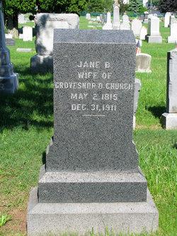 Jane <i>Barry</i> Church