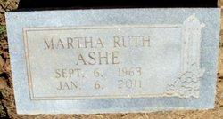 Martha Ruth <i>Ashe</i> Ashe