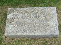 W. E Miles
