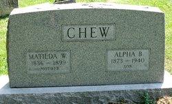Alpha B Chew
