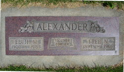 Fred Noble Alexander